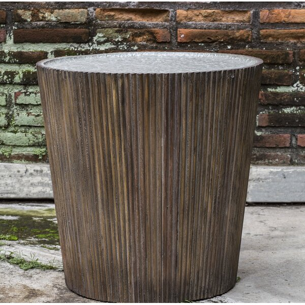 Zainab Reeded Round End Table By Bloomsbury Market
