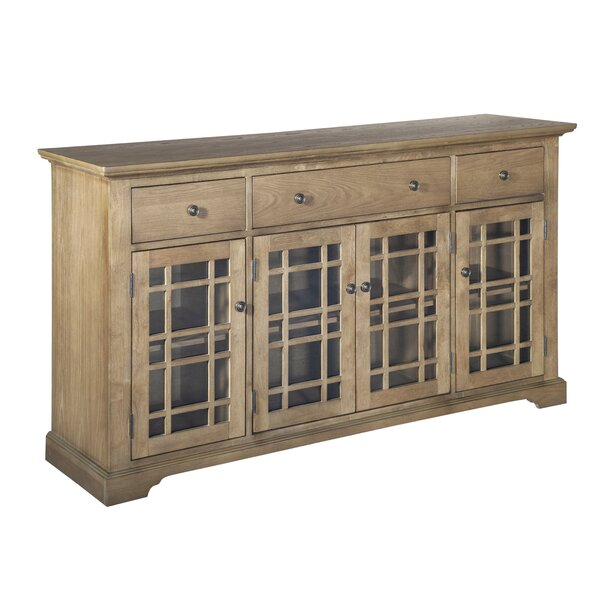 Opheim 4 Doors Accent Cabinet by Ophelia & Co.