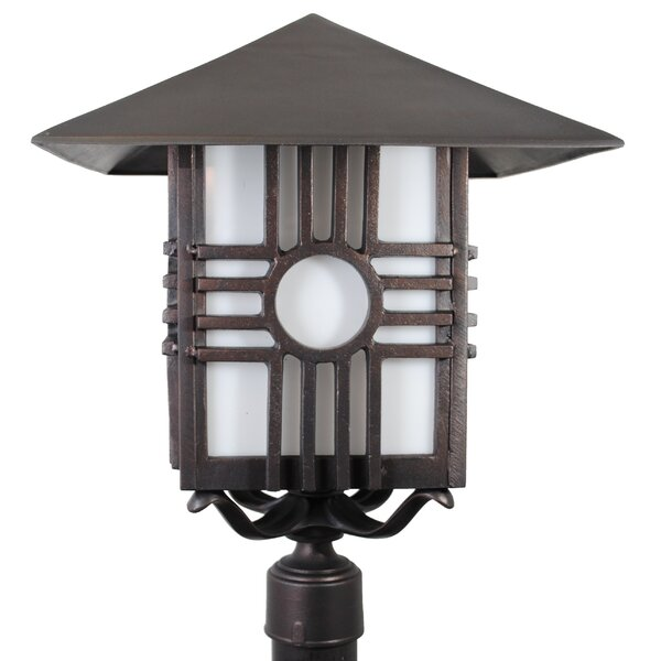 Penfield Zia Series 1 Light 24.75 Post Lantern by Alcott Hill
