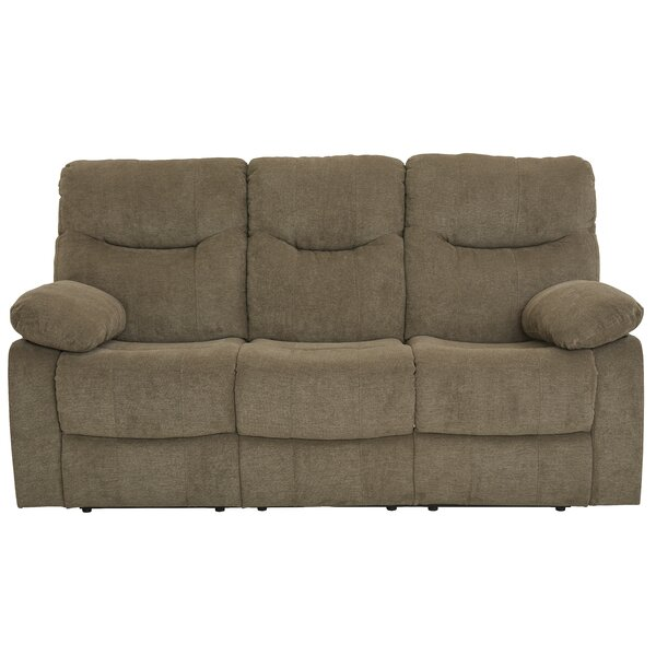 Best #1 Rollison Reclining Sofa By Charlton Home Discount