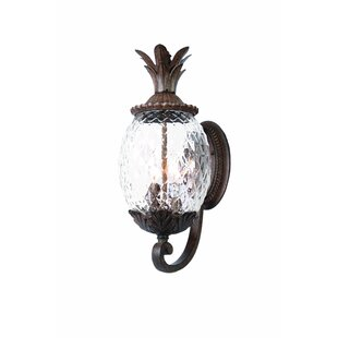 Read Reviews Kyra 3-Light Outdoor Sconce By Beachcrest Home