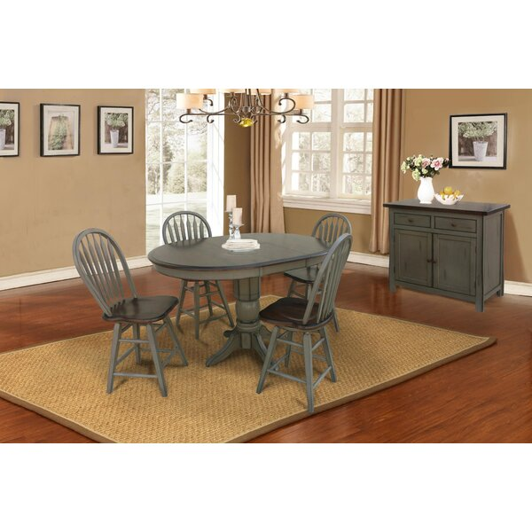 Adalberto 6 Piece Dining Set by August Grove