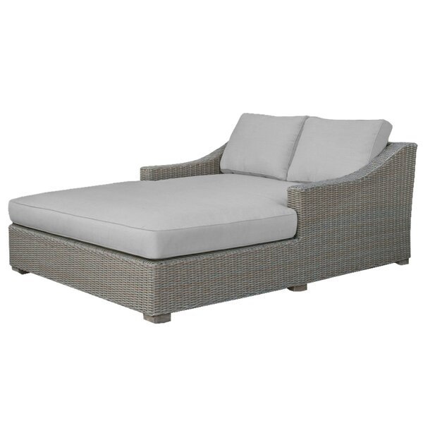 Oneybrook Double Chaise Lounge with Cushion