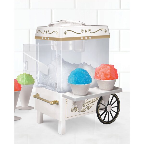 Carnival Snow Cone Maker by Nostalgia