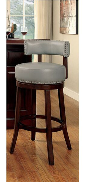 Walker 25 Swivel Bar Stool by Fleur De Lis Living