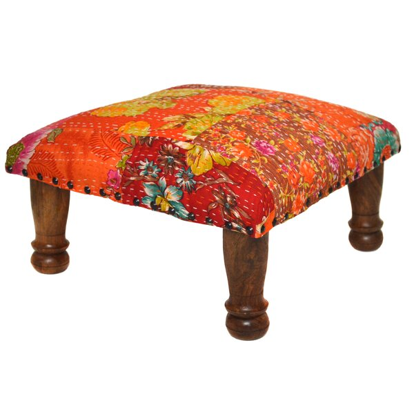 Patchwork Ottoman by Divine Home