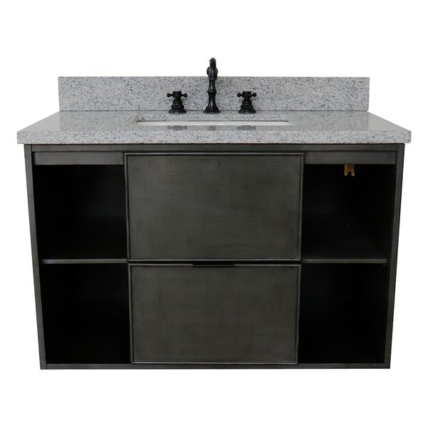 Artlone 37 Wall Mounted Single Bathroom Vanity by Bloomsbury Market