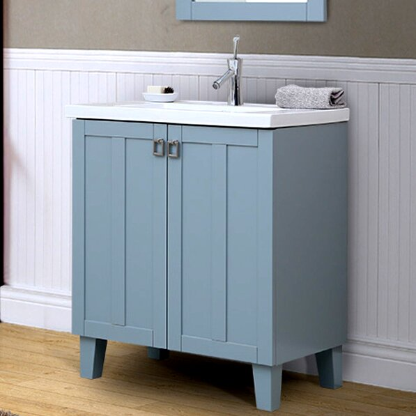 37 Series 30 Single Bathroom Vanity Set by InFurniture