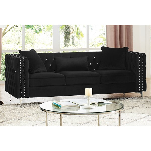Marvine Chesterfield Sofa By Rosdorf Park
