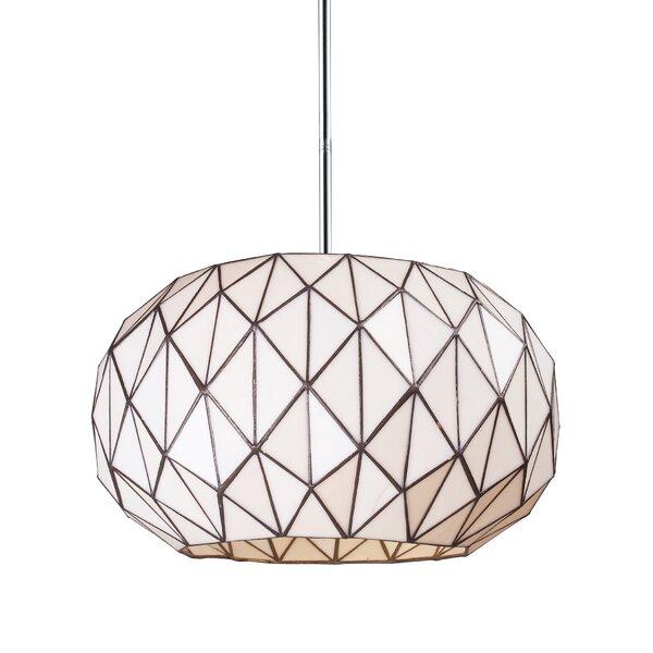 Alfredo 3-Light Geometric Chandelier by Langley Street