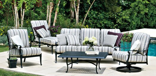 Wiltshire 4 Piece Sofa Set by Woodard