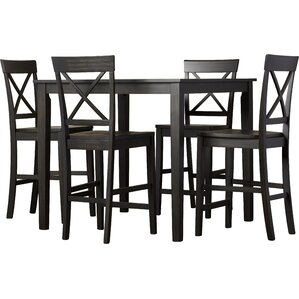 Reeves 5 Piece Counter Height Dining Set by Alcott Hill