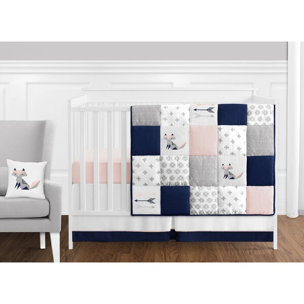 Fox Patch 11 Piece Crib Bedding Set by Sweet Jojo Designs