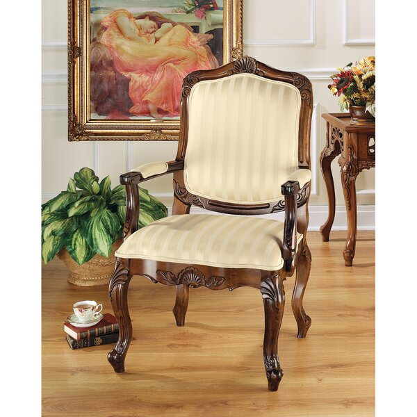 St. Enimie Fauteuil Chair Armchair by Design Toscano
