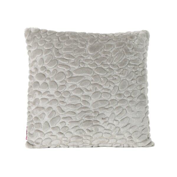 Hamblen Furry Faux Fur Throw Pillow by Greyleigh