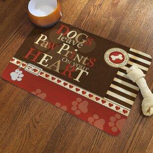 Paw Prints Doormat