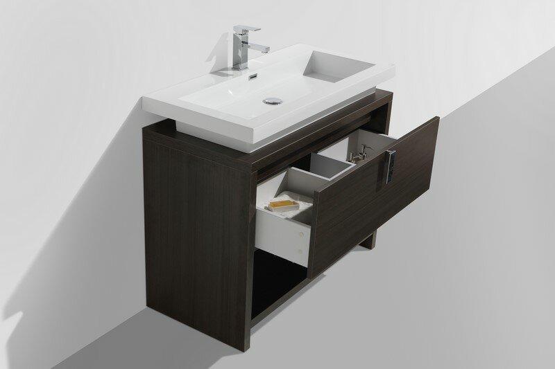 kube bath levi 39 5 single modern bathroom vanity set reviews