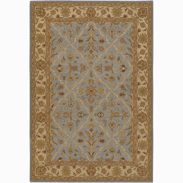 Abell Brown/Blue Area Rug by Alcott Hill