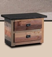 Chiasson 2 Drawer Nightstand by Harriet Bee