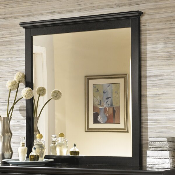 Beaumont Rectangular Dresser Mirror by Three Posts