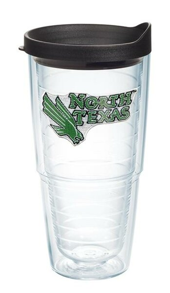 Collegiate North Texas 24 oz. Plastic Travel Tumbler by Tervis Tumbler