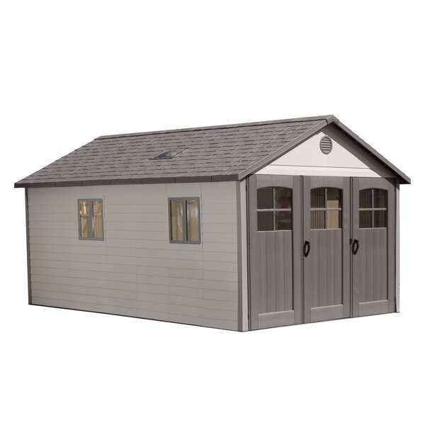 10 ft. W x 18 ft. D Plastic Storage Shed by Lifetime