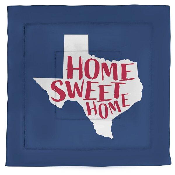 Texas Home Sweet Single Reversible Comforter