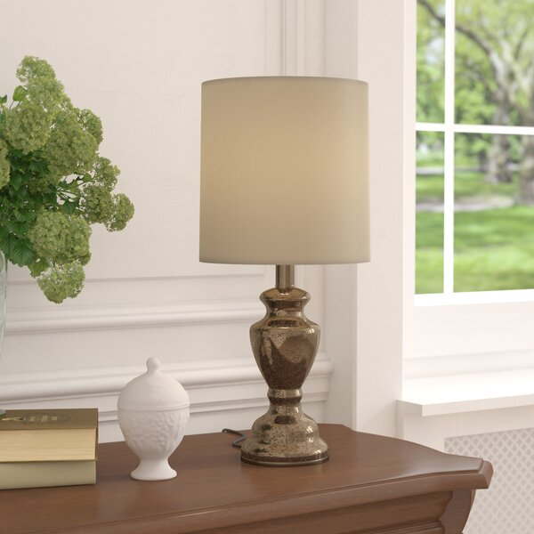 Worthen Glass 20.25 Table Lamp by Charlton Home