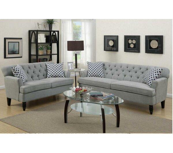 Kamden 2 Piece Living Room Set by Winston Porter