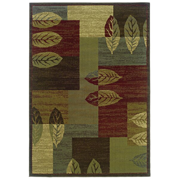 Midland Brown/Beige Area Rug by Threadbind