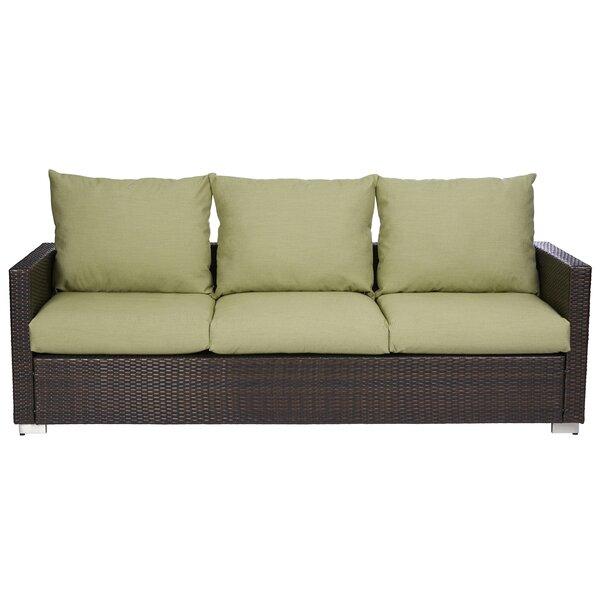 Mcmanis Patio Sofa with Cushion by Ivy Bronx Ivy Bronx