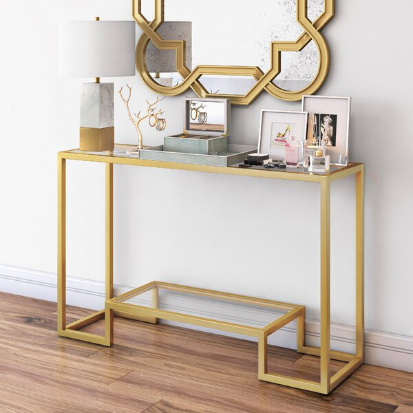 Imel Console Table by Mercer41