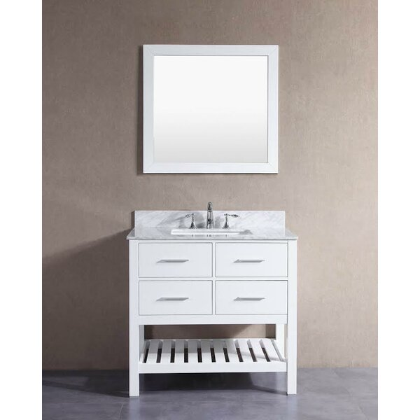 Signature Series 36 Single London Bathroom Vanity Set by Belvedere Bath