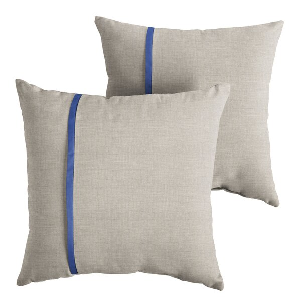 Couto Indoor/Outdoor Throw Pillow (Set of 2) by 17 Stories