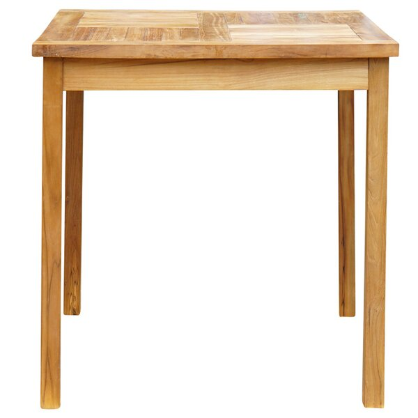 Klaus Teak Bar Table by Bayou Breeze