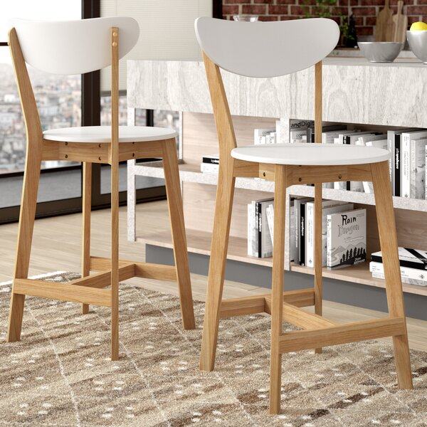 Jensen 24 Bar Stool (Set of 2) by Corrigan Studio