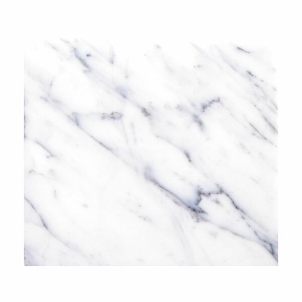 Statuarietto 18 x 18 Beveled Marble Field Tile