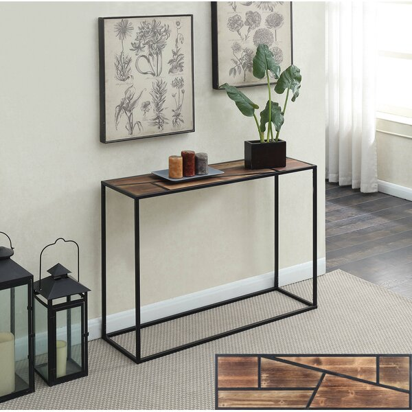Bolander Geo Console Table By Union Rustic