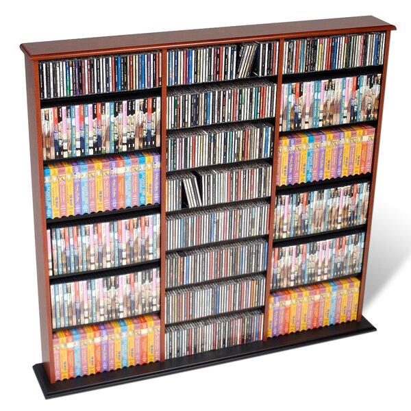 Lamb Triple Width Multimedia Storage Rack by Red Barrel Studio