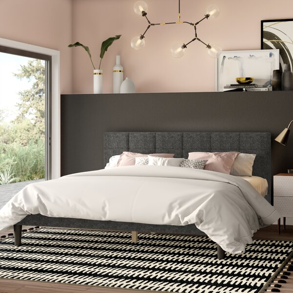 Mcadams Upholstered Platform Bed by Mercury Row
