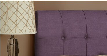 Dawn Upholstered Panel Headboard by Darby Home Co