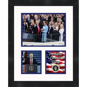 2017 Presidential Inauguration of President Donald Trump Framed Memorabilia by Frames By Mail