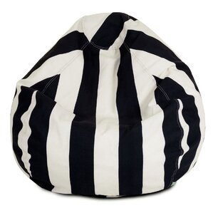 Stripes Bean Bag Chair by Longshore Tides