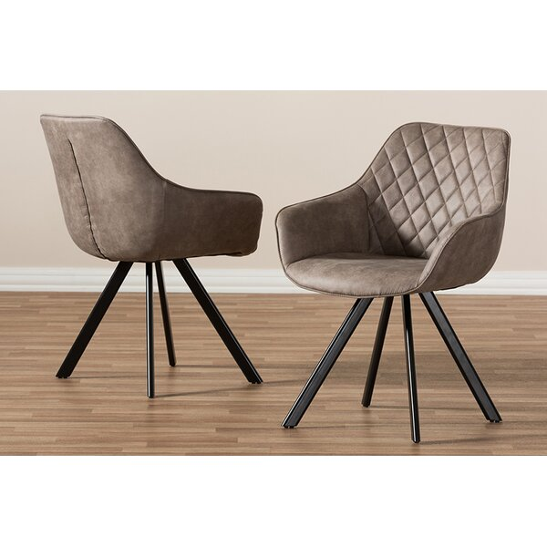 Marian Upholstered Dining Chair (Set of 2) by Brayden Studio