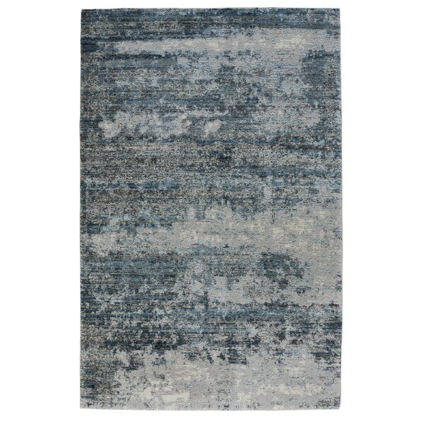 Mcmillen Blue Area Rug by Williston Forge
