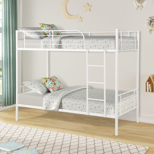 Buckfastleigh Metal Twin over Twin Bunk Bed by Isabelle & Max