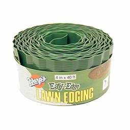 4 in. H x 40 ft. W Lawn Edging by Warp Brothers