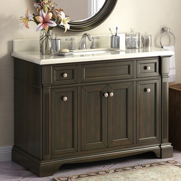 Bryon 48 Single Bathroom Vanity Set by Lanza