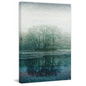 'Apple Lake' Photographic Print on Wrapped Canvas by Loon Peak