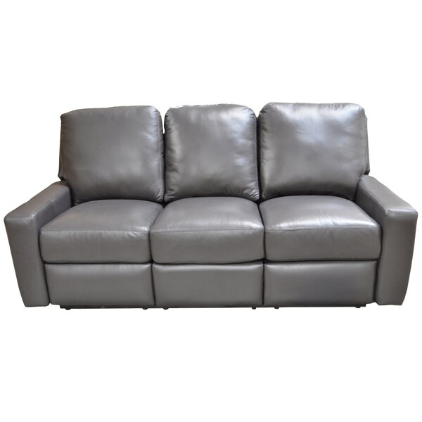 Mirage Leather Reclining Sofa by Omnia Leather